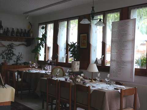 Restaurant Le Jaman, Glion