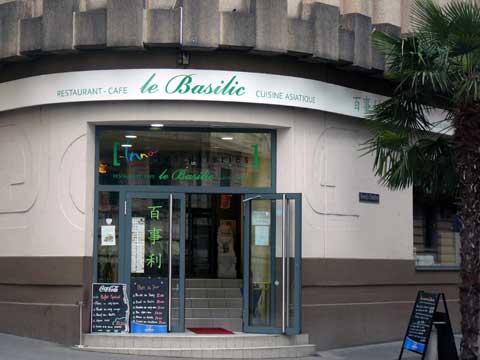 Restaurant Le Basilic, Montreux