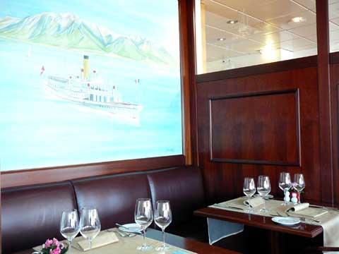 Restaurant Le Pavois, Territet / Montreux