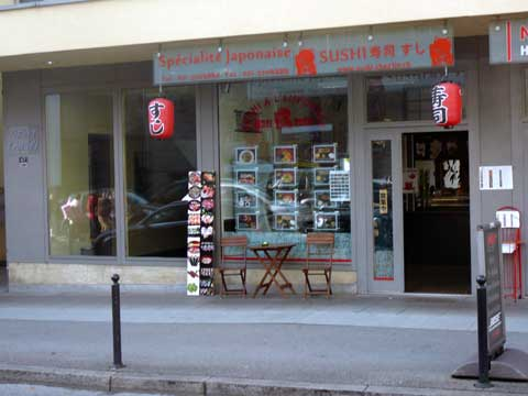 Sushi Chez Lin, Montreux