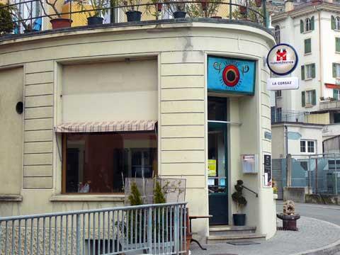 Café de la Corsaz, Montreux
