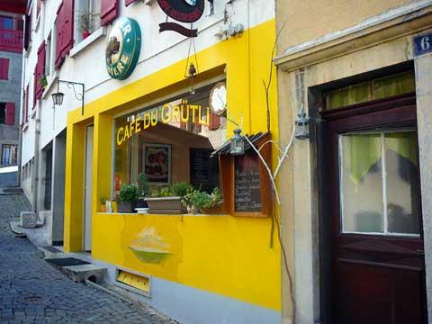 Café du Grütli, Montreux