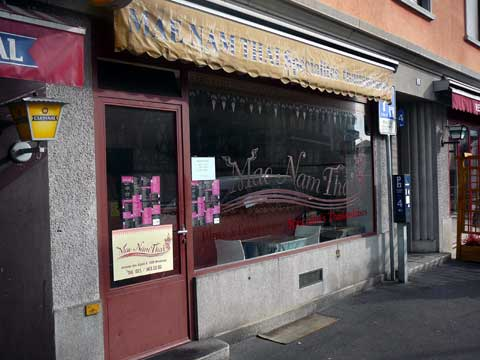 Restaurant Mae Nam Thaï, Montreux