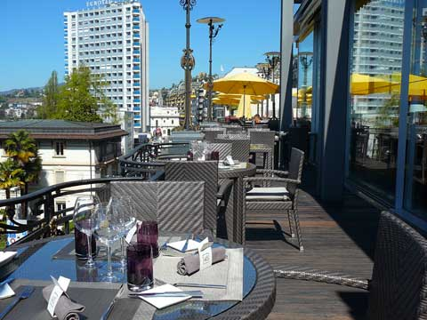 Restaurant 45, Hôtel Suisse Majestic, Montreux