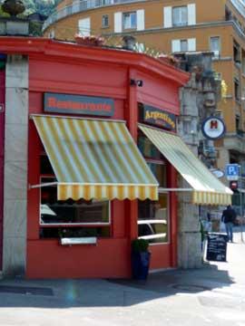 Restaurant Tango Argentino, Territet