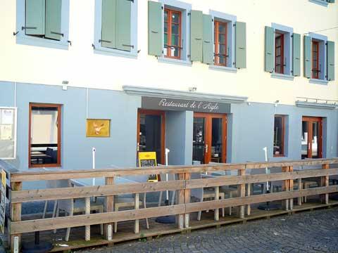 Restaurant de l'Aigle, Villeneuve