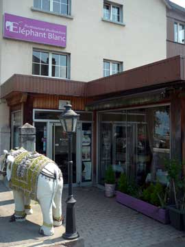 Restaurant Elephant Blanc, Villeneuve