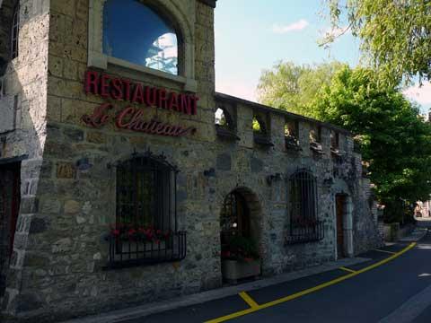 Restaurant Le Château, Villeneuve